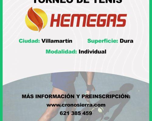 TORNEO DE TENIS HEMEGAS