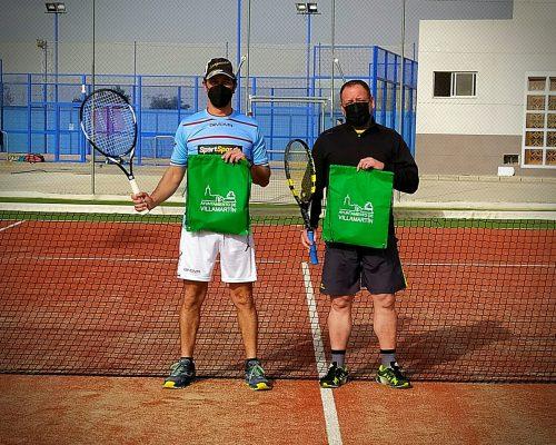 Comenzó el Torneo de Tenis Hemegas
